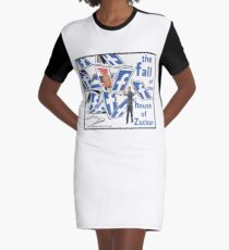 The Fall of the House of Zucker Graphic T-Shirt Dress
