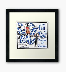 The Fall of the House of Zucker Framed Print