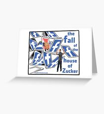 The Fall of the House of Zucker Greeting Card