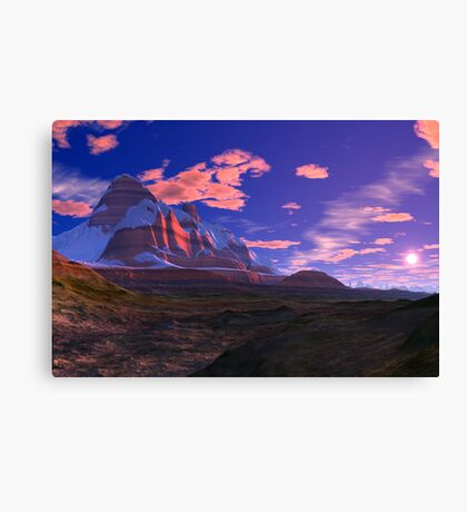 Red Rock Country Canvas Print