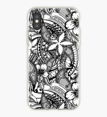 It's Not Always Black Or White Polynesian Tattoos iPhone Case