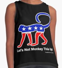 Let's Not Monkey This Up! Contrast Tank