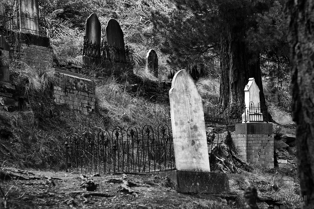 Remnants - Walhalla cemetery by Jim Worrall