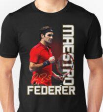 dfb71263 Swiss Master Roger Federer Tennis T-shirt Unisex T-Shirt