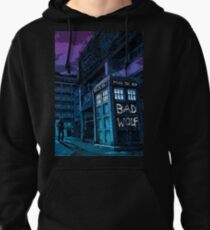 Dr Who Pullover Hoodie
