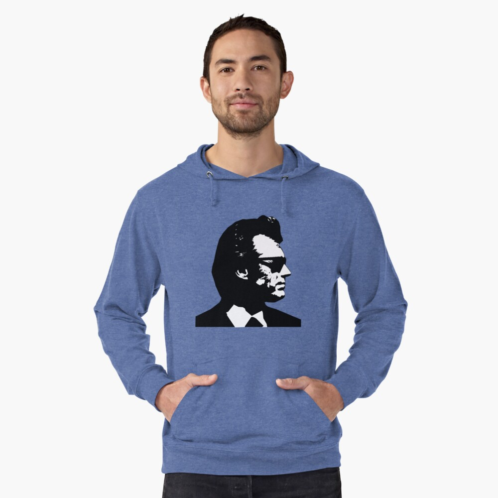Clint Eastwood Dirty Harry Lightweight Hoodie Front