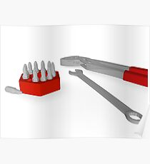 working tools Poster
