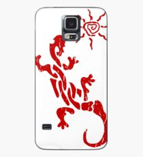 Native American Tribal Lizard and Sun Phone Cover Case/Skin for Samsung Galaxy