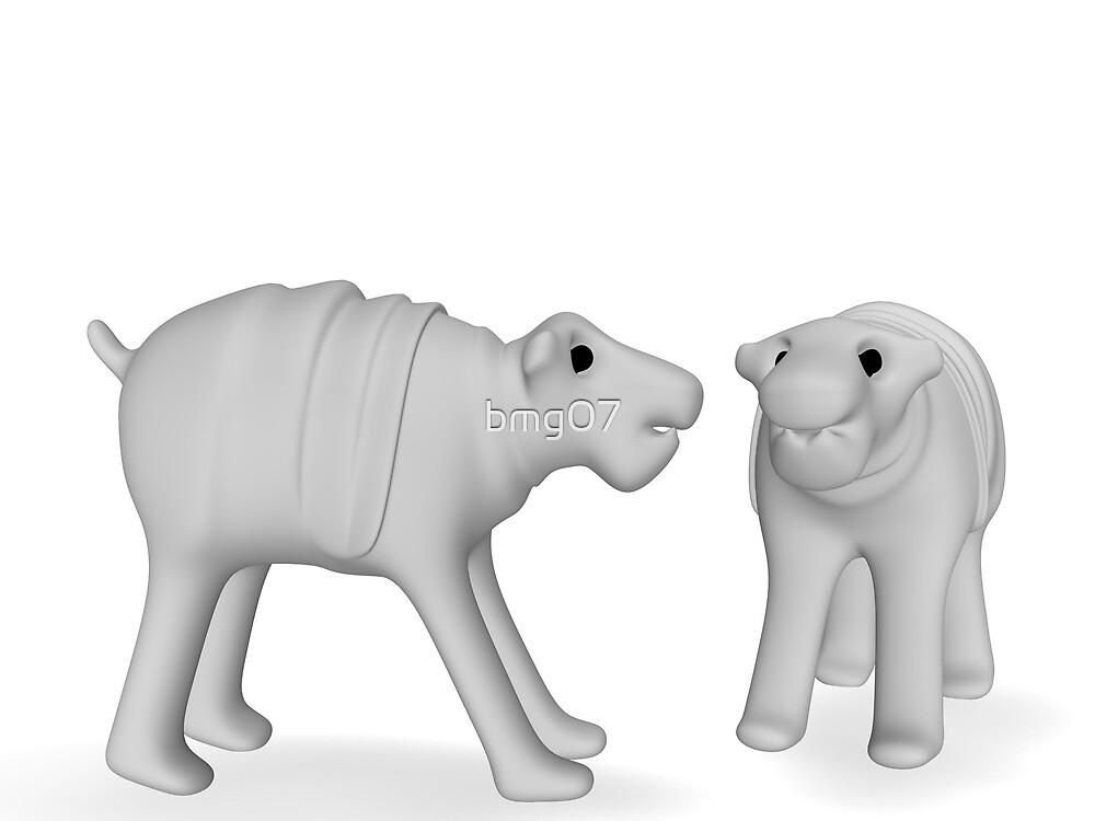 hippopotamus by bmg07