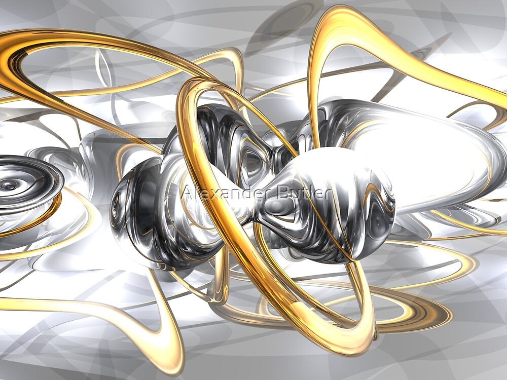 Sterling Desire Abstract by Alexander Butler