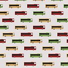 Auckland City Buses by MeredithWatson