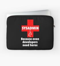 SYSADMIN: Because even developers need heros Laptop Sleeve