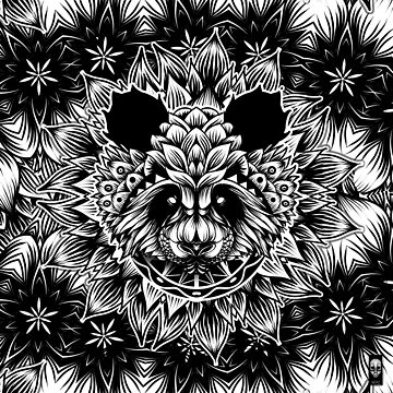 Panda pattern by fakeface