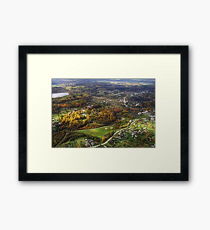 Nice living place (The Baltic states) Framed Print