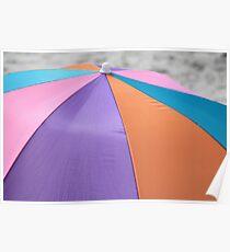 Umbrella View Poster
