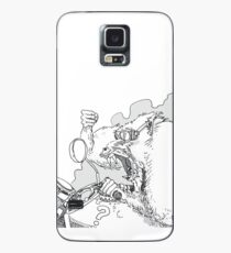 Mandrill biker is angry Case/Skin for Samsung Galaxy