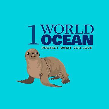 1 World Ocean - Sea Lion by PepomintNarwhal