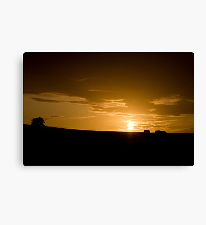 Sunset in County Wexford, Ireland Canvas Print