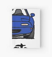 MX5 Miata NA Blue Hardcover Journal