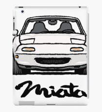 MX5 Miata NA White iPad Case/Skin