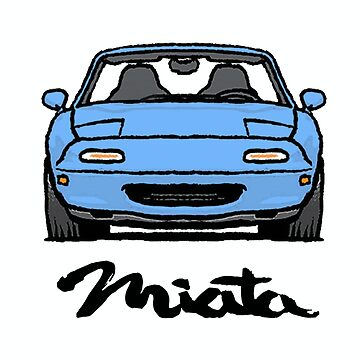 MX5 Miata NA Light Blue by Woreth