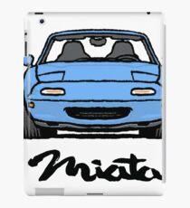 MX5 Miata NA Light Blue iPad Case/Skin