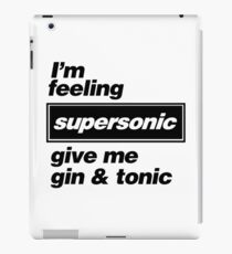 Oasis - Supersonic Lyrics design iPad Case/Skin