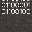 Dad Translated into Binary Code Virus Code Font by DesIndie