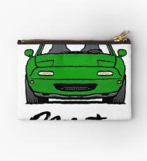 MX5 Miata NA Green Studio Pouch