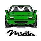 MX5 Miata NA Green by Woreth