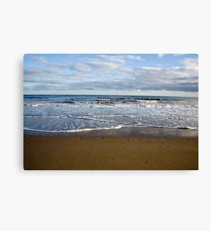 Ballyconnigar beach, County Wexford, Ireland Canvas Print