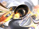 Fire and Ice Abstract by Alexander Butler