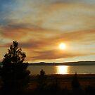 Evening Smoky Sunset by BellaStarr