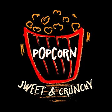Popcorn Sweet and Crunchy - Cartoon Movie Theme by stuch75
