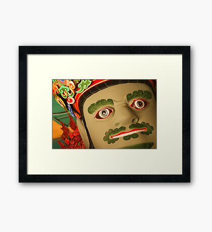 Jeungjang, King of the South - Ssangye Temple, South Korea Framed Print
