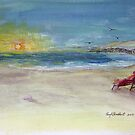 Lady Ruth Marie Sunrise at the Beach by RoyAllen Hunt