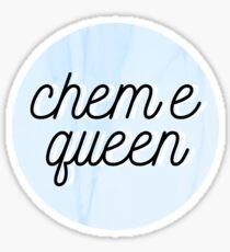 chem e queen Sticker