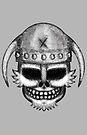 Errorface Viking Skull by errorface