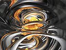 The Fire Within Abstract by Alexander Butler