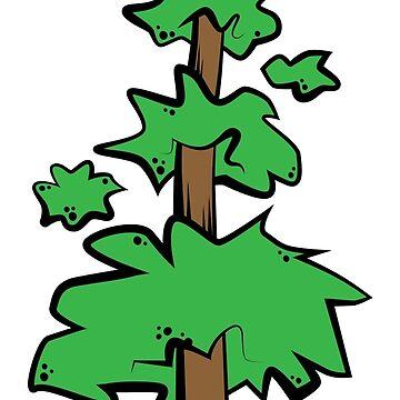 Poof Tree by LudlumDesign