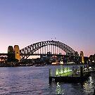 Sydney Opera House Sunset by vonb