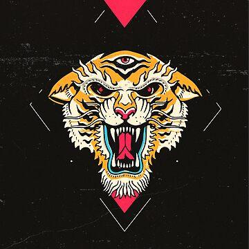 Tigre de Tres Ojos de Lostanaw