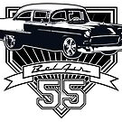 55 Chevy Bel Air by CoolCarVideos