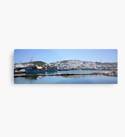 Naoussa ~ Fishing Harbour & Village ~ What a Gem Metal Print