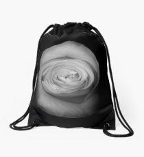Rose from the Shadows Drawstring Bag