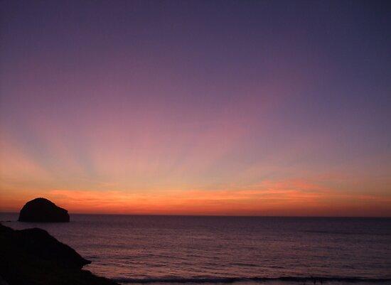 Saturday Sunset.... by greenstone