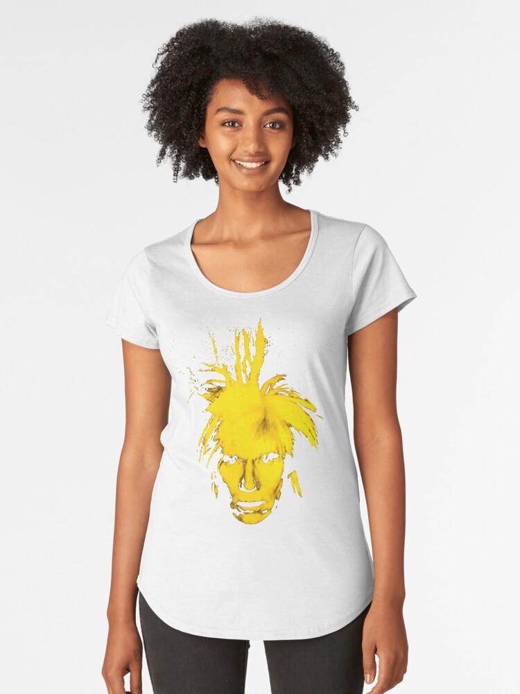 Camisetas premium para mujer «Andy Warhol» de RatRock  b2e3ca6751b