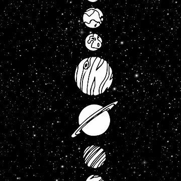 Planets by elenara
