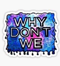 WDW - Galaxy Splatter Logo Sticker