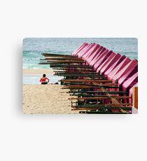 A beach Canvas Print